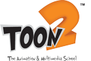 TOON2 – The Animation and Multimedia School – Mysore Logo